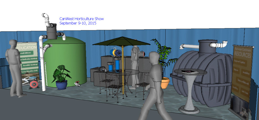 show booth - 3 spaces