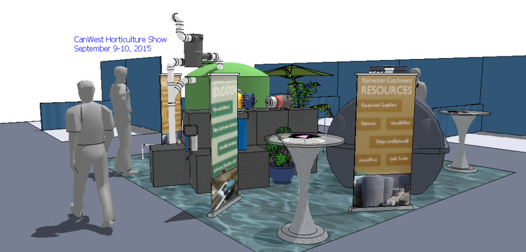 show booth - 4 spaces